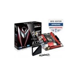 TARJETA MADRE ASROCK Z170 GAMING-ITX/AC DDR4 WIFI USB3.0 HDMI SOC 1151