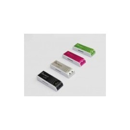 MEMORIA FLASH BLACK PC MOD 103 4GB 2.0 AZUL ALUM PLAST (MU2103B-4)