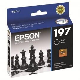 CARTUCHO EPSON T197 NEGRO XP-20 /101/104 201/401 8ML (T197120-AL)