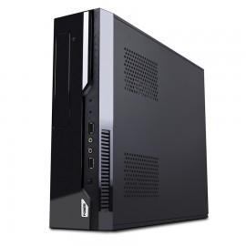 GABINETE ACTECK SLIM LUMINO MICRO ATX 500W NEGRO AC-05003