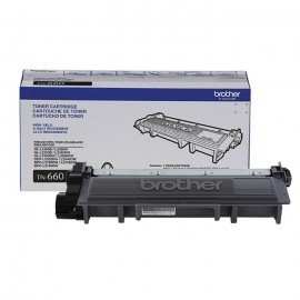 TONER BROTHER TN660 NEGRO 2,600 PAGINAS P/HLL2360DW/DCPL2540DW/MFCL270
