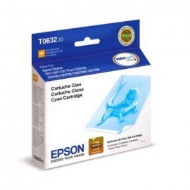 CARTUCHO EPSON STYLUS PRO T063 CYAN C67/87/ CX3700 8ML (T063220)