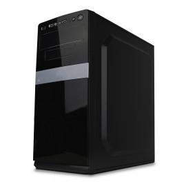 GABINETE ACTECK ATX-MICRO ATX 500W BURGOS NEGRO AC-05007