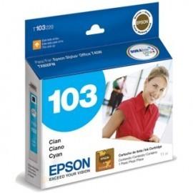 CARTUCHO EPSON T103 CYAN T1110/T40/TX515/TX600/TX550 11ML (T103220-AL)