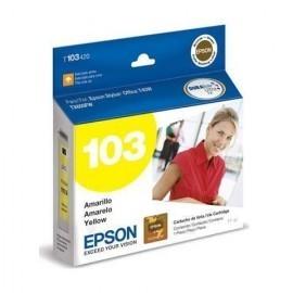 CARTUCHO EPSON T103 AMARILLO T1110/T40/TX515/TX600 11ML (T103420-AL)
