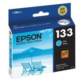 CARTUCHO EPSON T133 CYAN PARA T22 / TX120/ TX130 8ML (T133220-AL)
