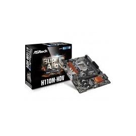 TARJETA MADRE ASROCK H110M-HDV 2DDR4 USB3.0 HDMI SOC 1151